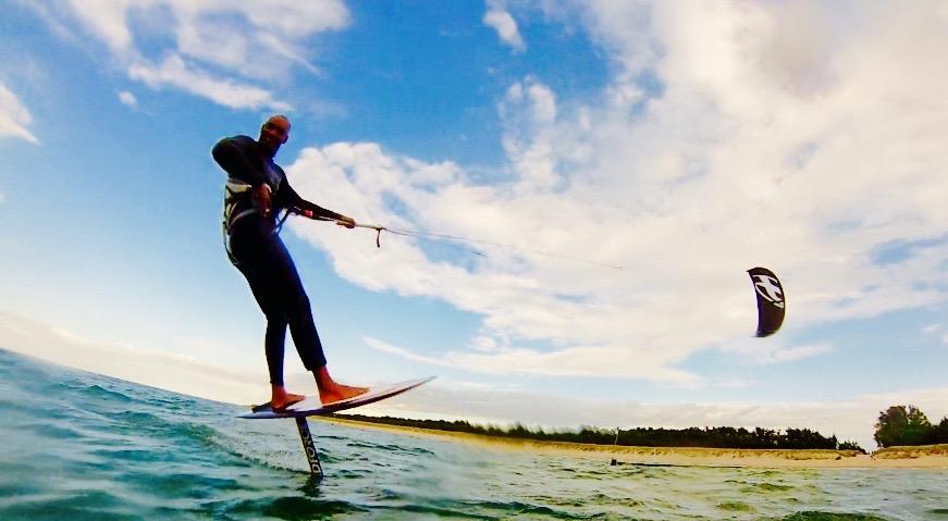 Hydrofoil Kiteschule Tages Kurs